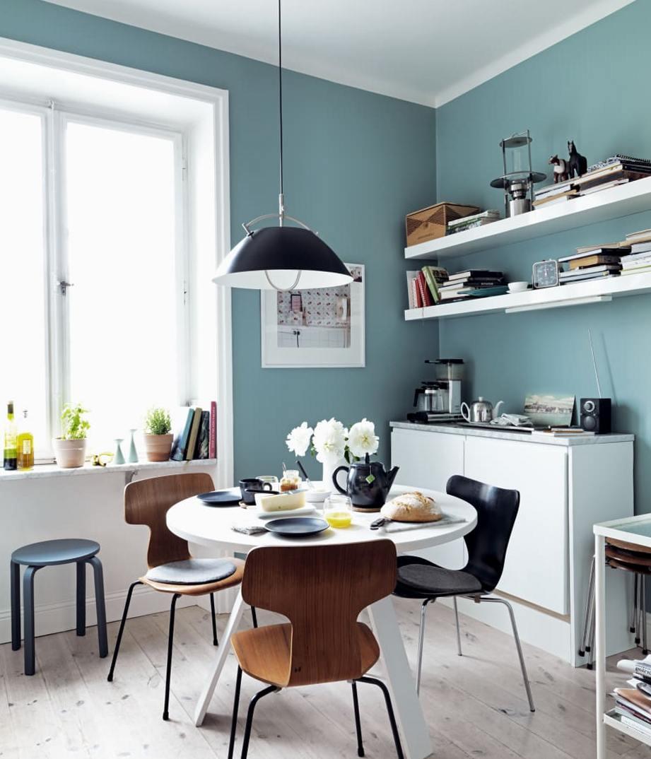 Turquoise Blue Kitchen