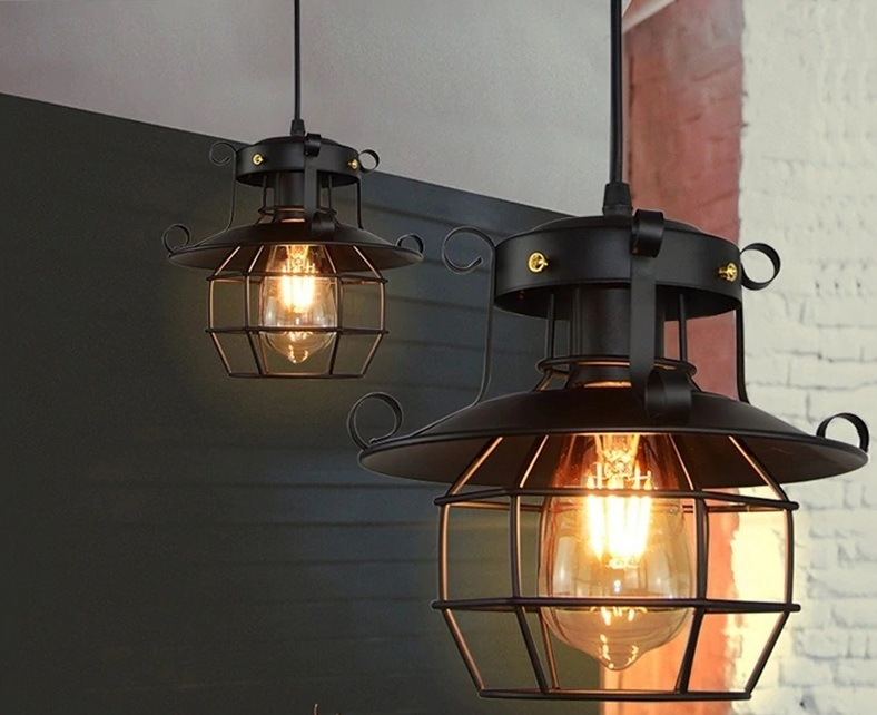 Outdoor-Styled Bathroom Lights