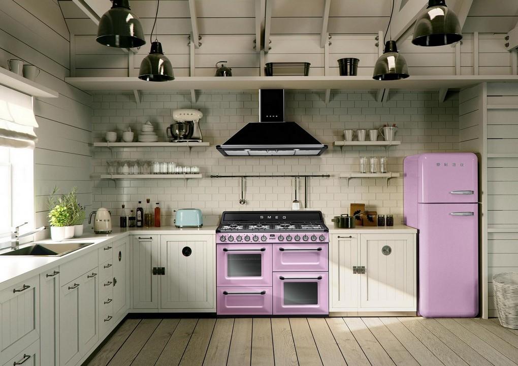 Pink Kitchen Lighting