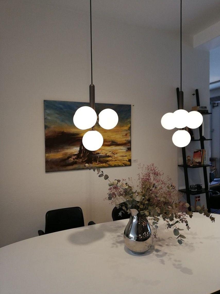 Clustered Pendant Lights