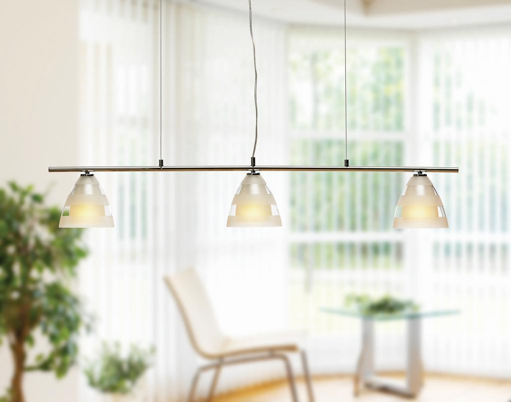 linear pendant lights by Herstal
