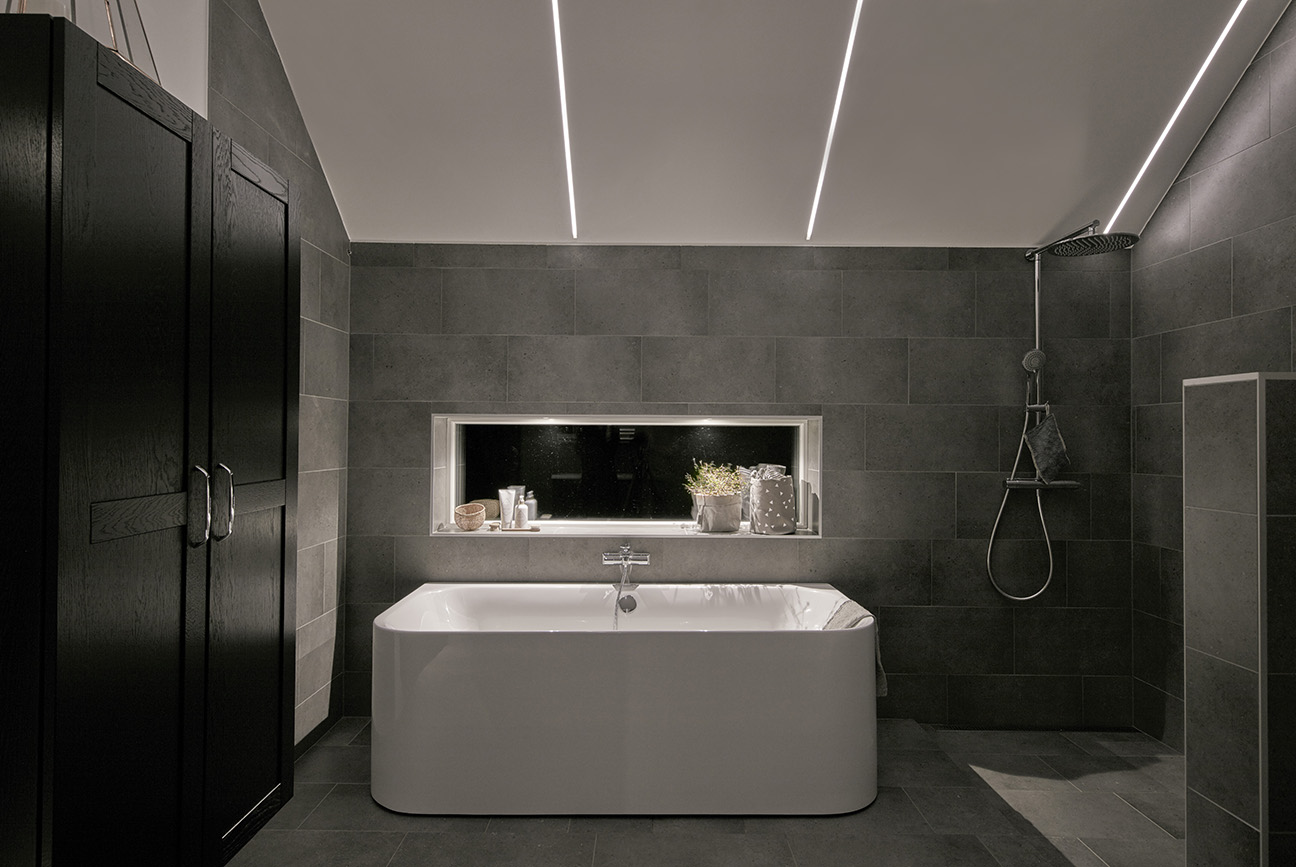 bathroom LED strip lighting