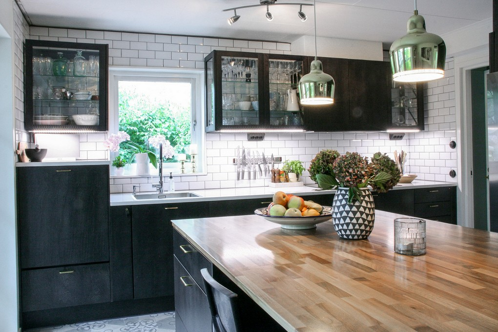 Colored Kitchen Lighting