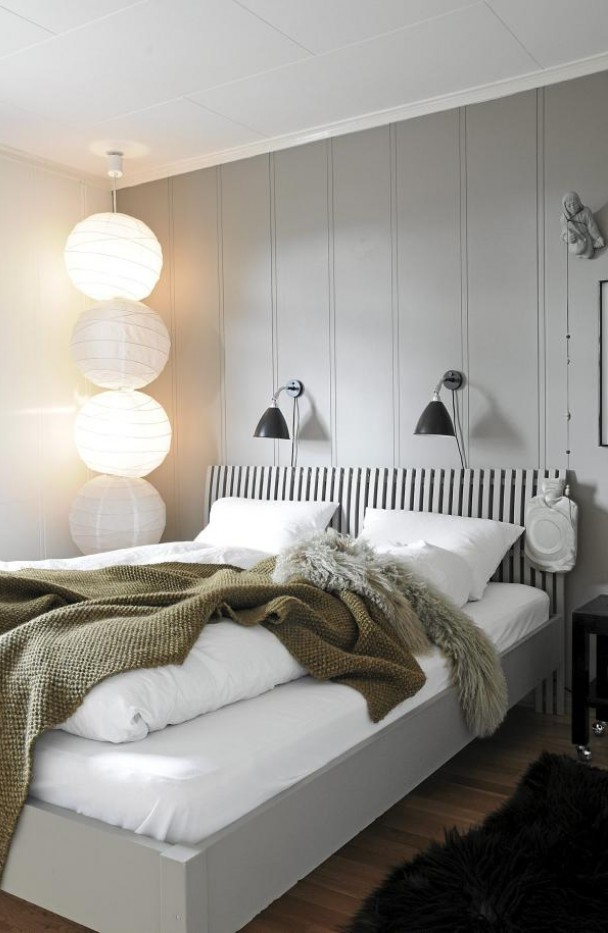 sphere-shaped bedroom lights