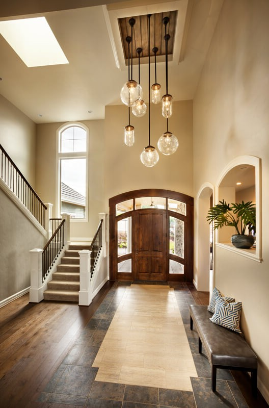 6 smart ideas on where to use pendant lighting certified lighting entryway pendant lighting aloadofball Image collections