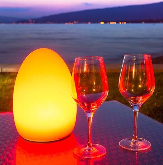 amber LED light