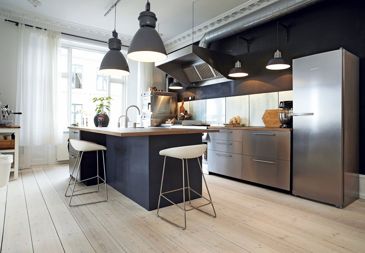 20 brilliant ideas for modern kitchen lighting certified for New modern kitchen pictures