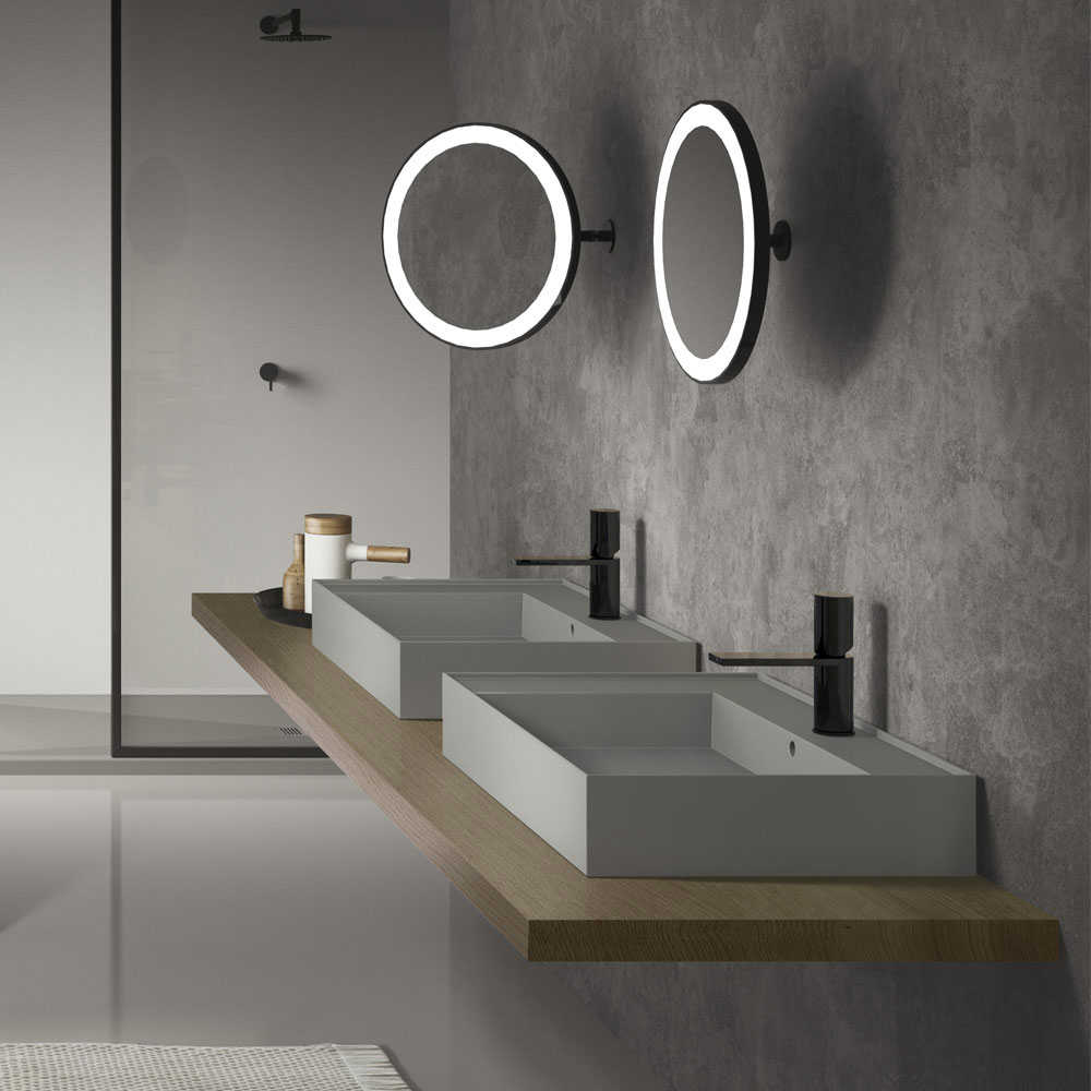 Illuminated Bathroom Mirrors A Stylish Bathroom Lighting