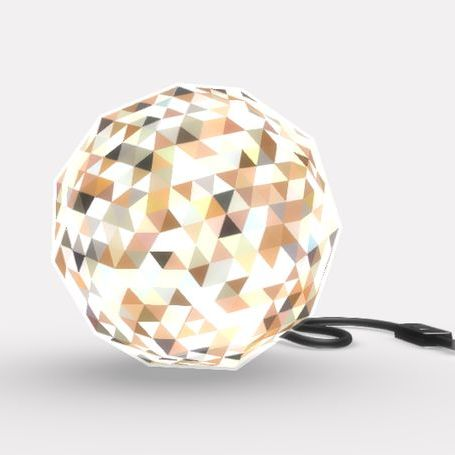 Dazzle Lamp by LimeMakers