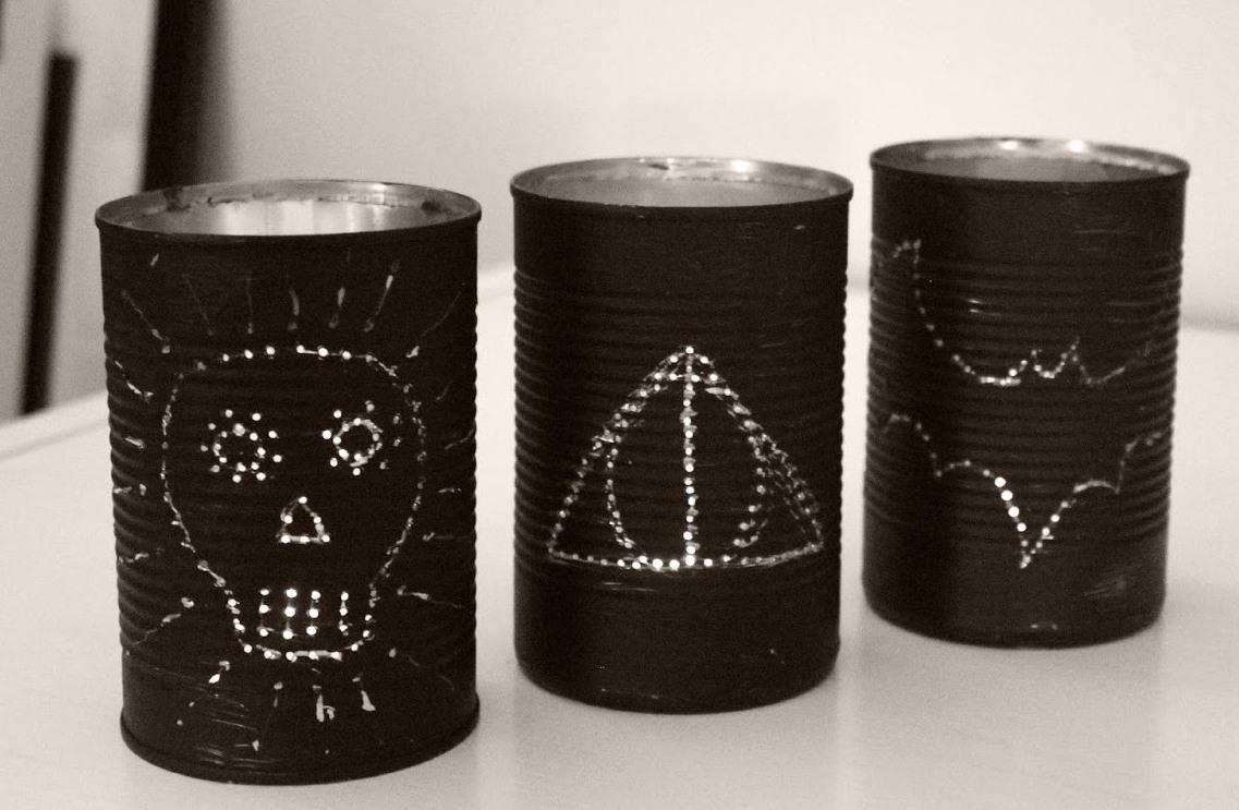 Tin DIY Lanterns