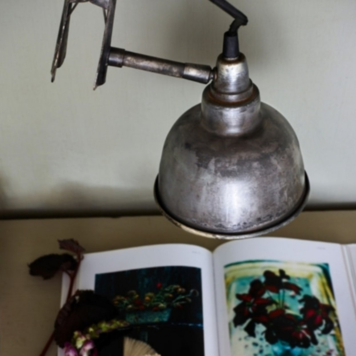 Industrial Clamp Lamp