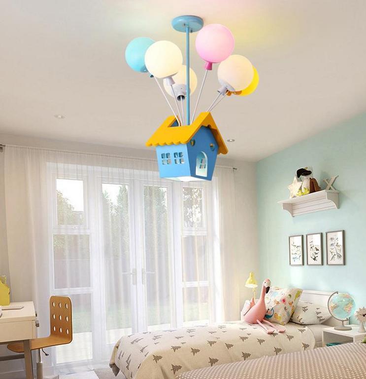 Creative Child's Room Lighting
