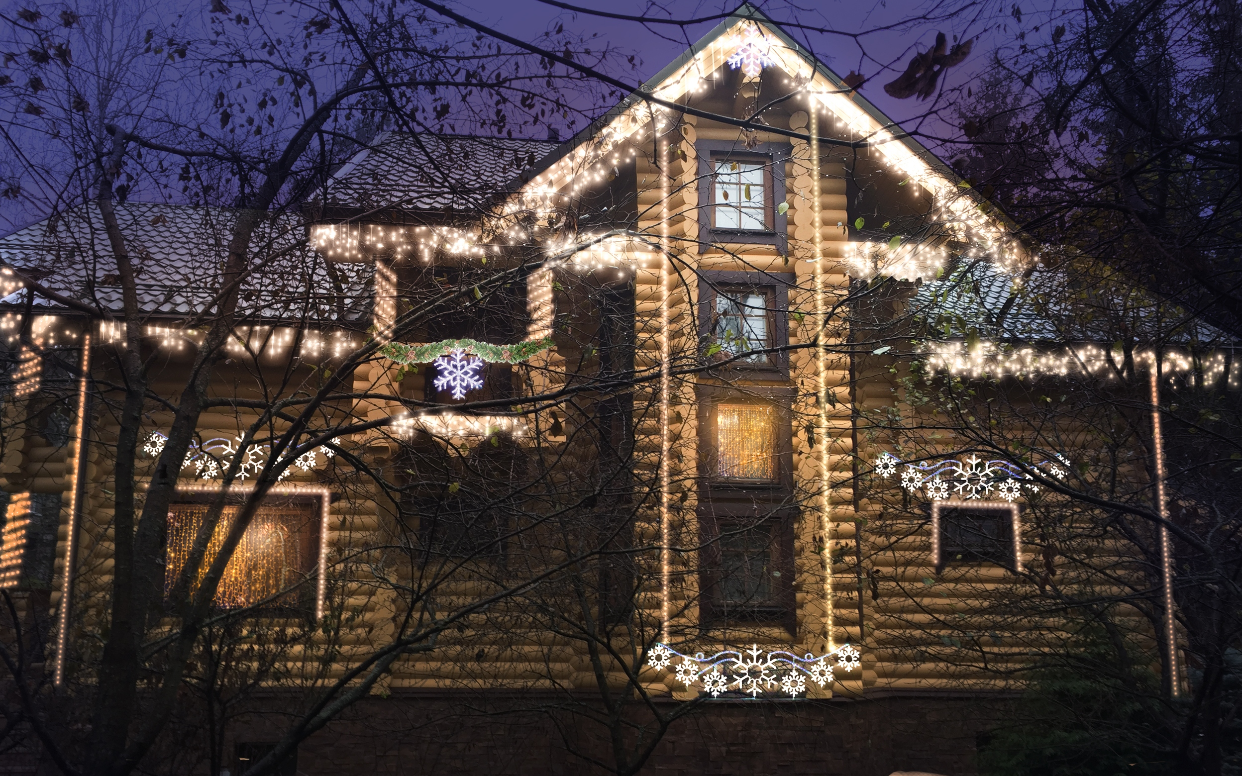 christmas icicle lights