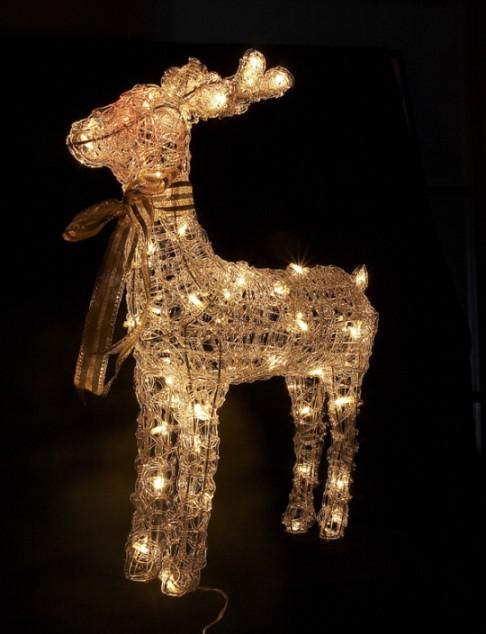 Christmas Deer Lights