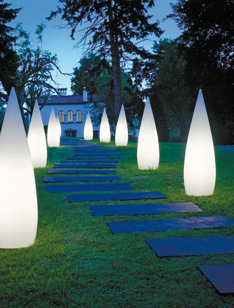 Modren Garden Lights Landscape I For Inspiration