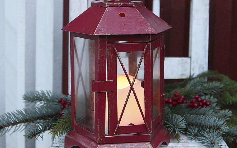 led christmas lanterns