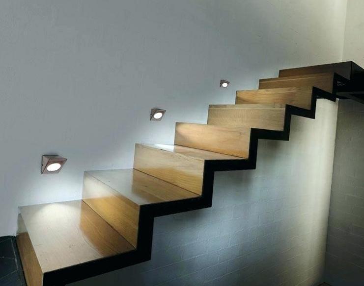 steps spot lights