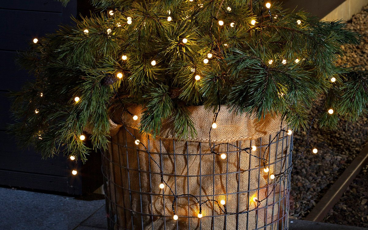 planter christmas decoration